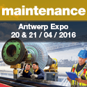Maintenance 2016 in Antwerpen Expo