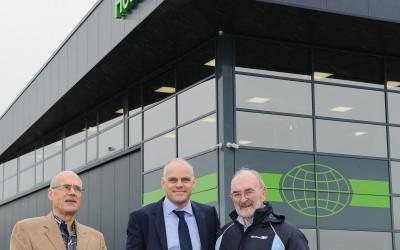Founder Hetraco B.V. visits new building